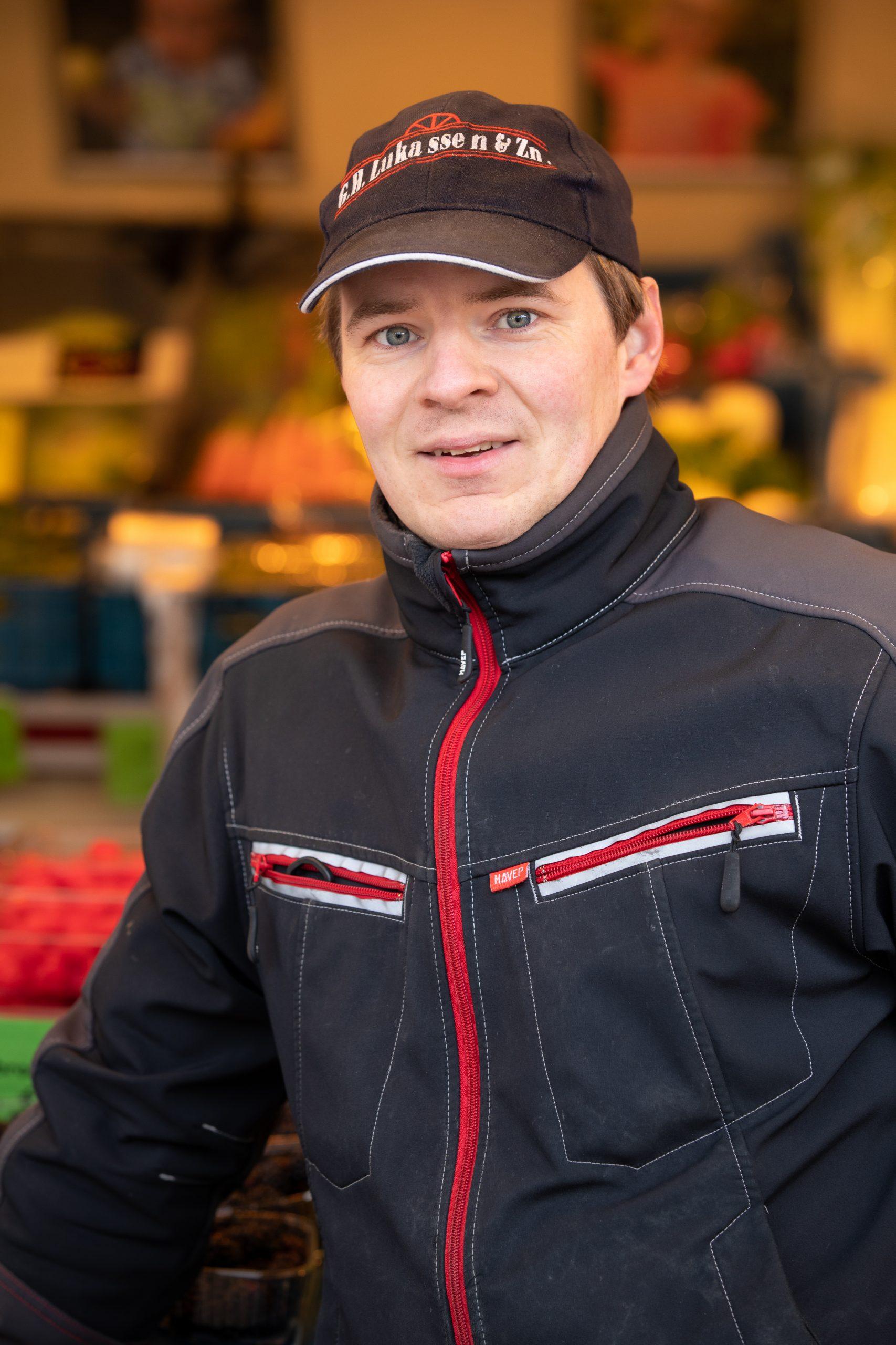Erik | Marktwagen | Gijsbrecht Groente | Hilversum